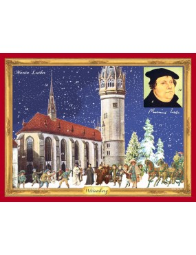 Martin Luther Advent Calendar