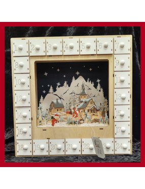 White Advent Calendar