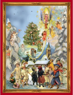 Angel Ladder Advent Calendar