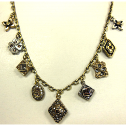 Etheria Bronze Droplette Necklace