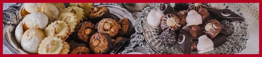 Deutsche handgefertigte Süßigkeiten