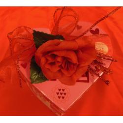 2 dozen chocolates in a heart box