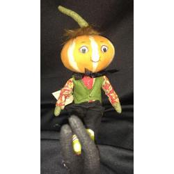 Kermit Pumpkin Head