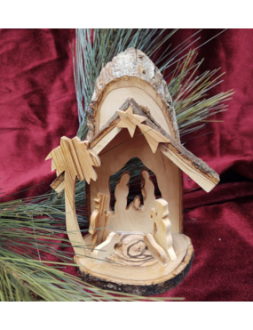 Olive Wood Nativity from...
